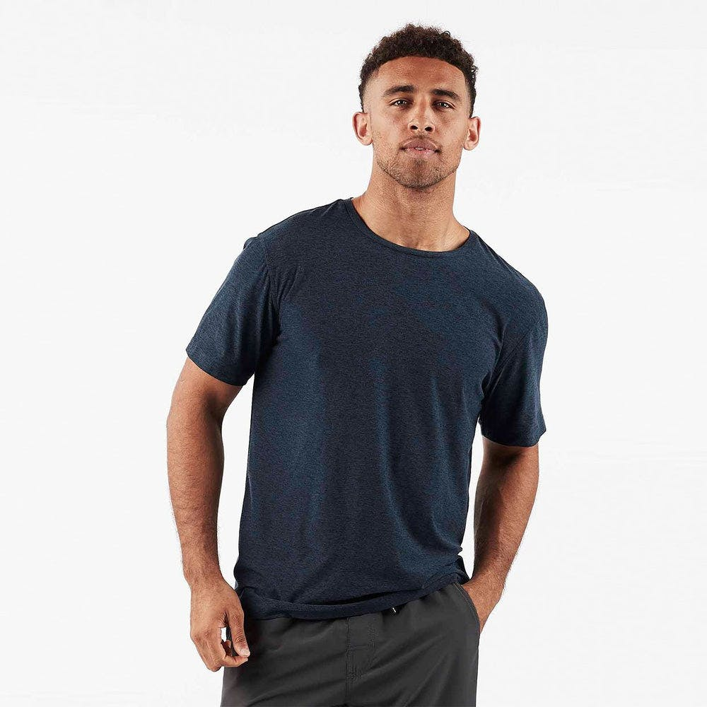 Strato Tech Tee - Navy Heather - Navy Heather 2