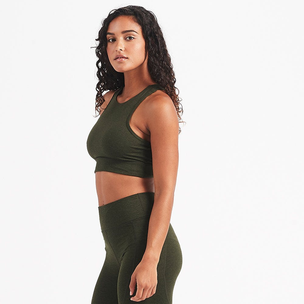 Juno Sports Bra | Evergreen Heather